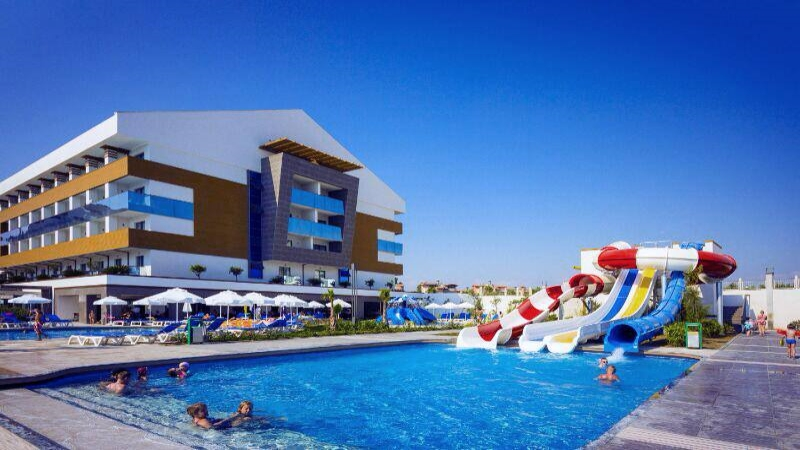 Hotel terrace beach 5 ab chf 378 t rkei antalya for What is a hotel terrace